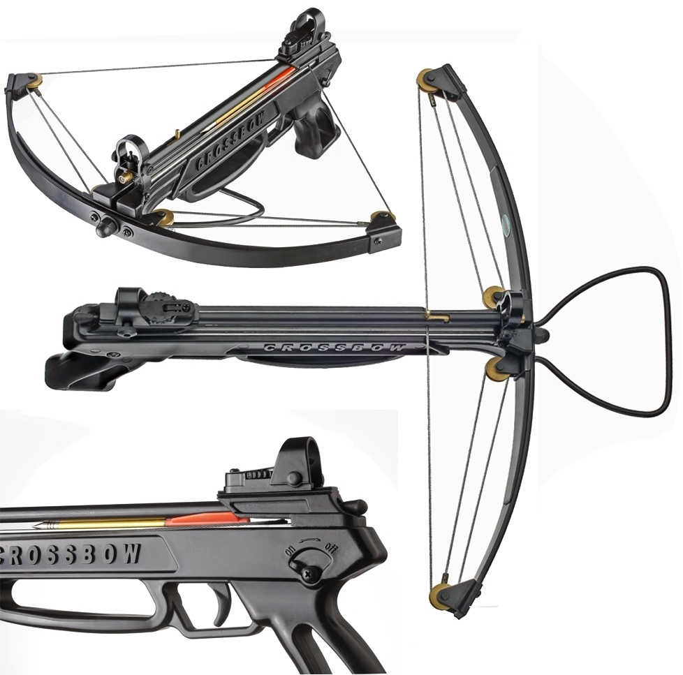 Venom moccasin compound pistol crossbow cheapest price in for Fishing crossbow pistol