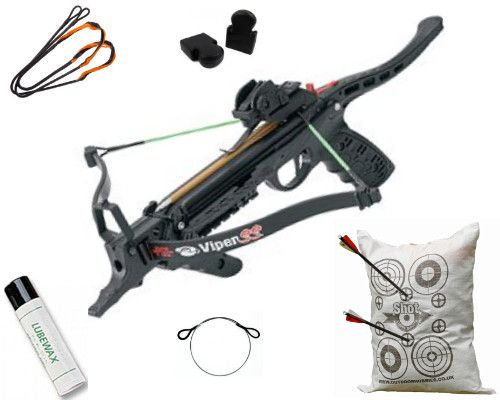 PSE Viper SS Pistol Crossbow Package Worth £84 95