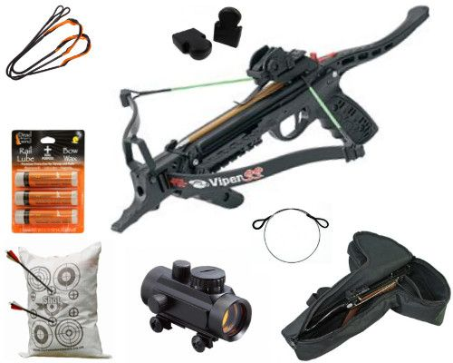 PSE Viper SS Pistol Deluxe Crossbow Package Worth £171 76